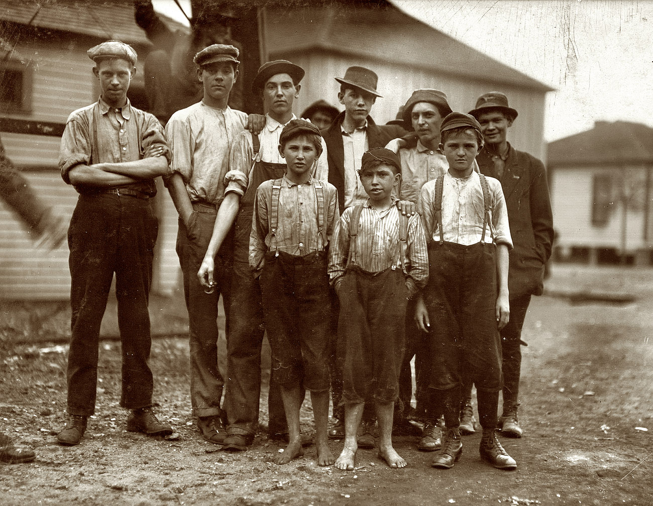 Shorpy Historical Picture Archive Avondale Mill Boys
