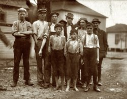 Avondale Mill Boys: 1910
