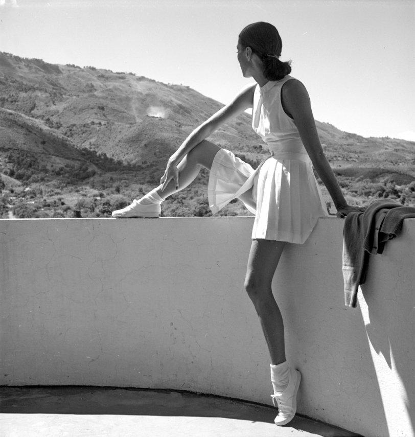 Tennis Fashion: 1947