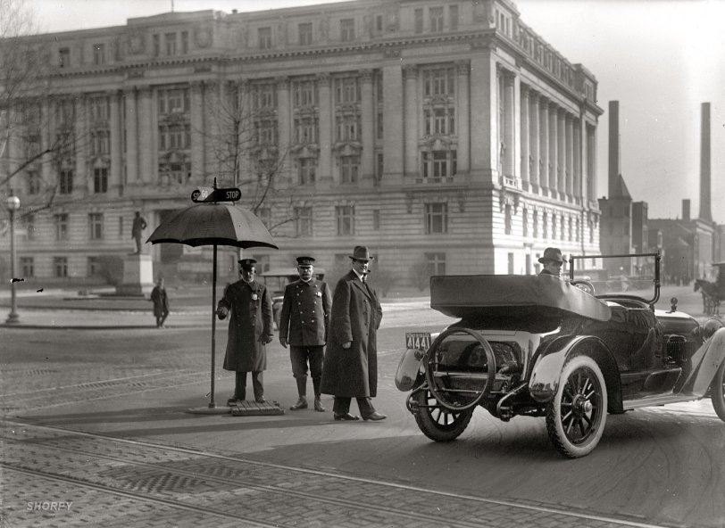 Traffic These Days: 1917