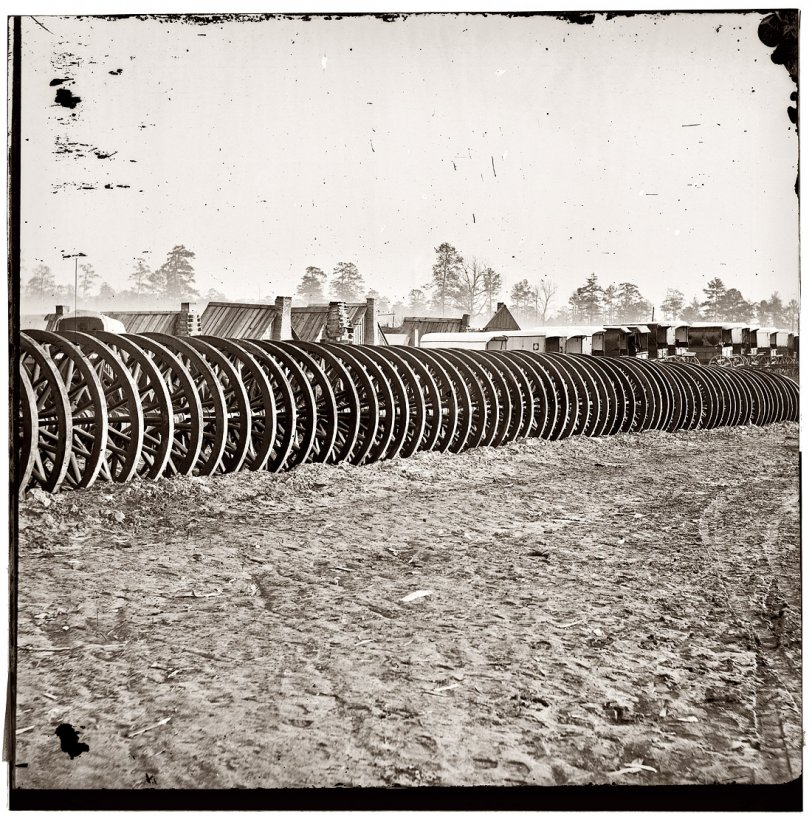 Wheels of War: 1865