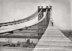 Bridge in Progress: 1908