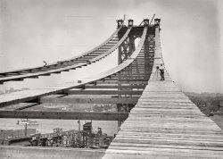 Bridge in Progress: 1908