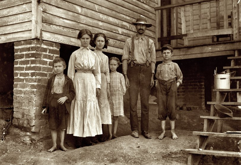 The Fields Family: 1911