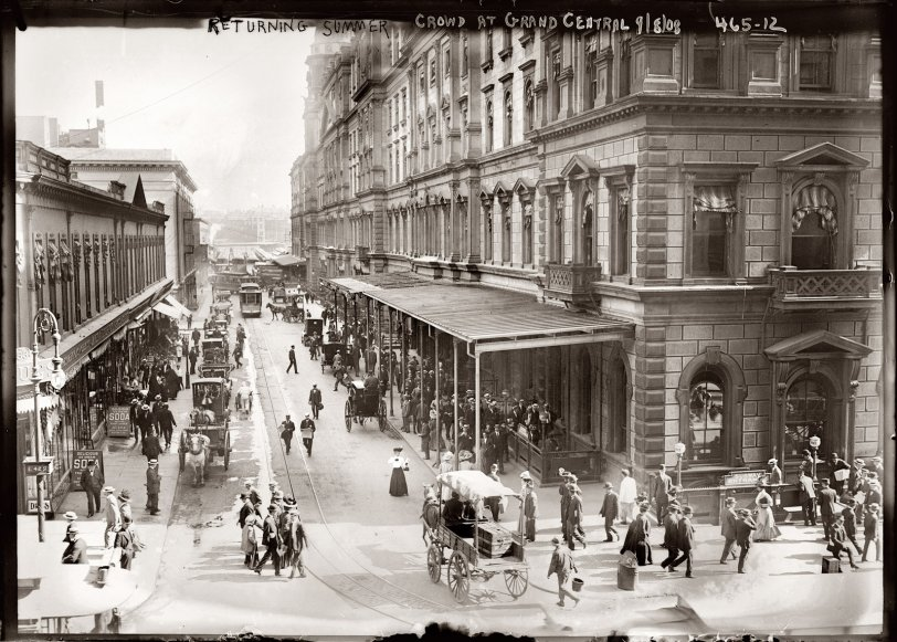 Grand Central Station: 1908