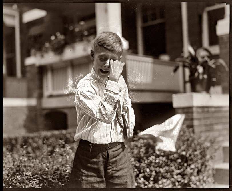 The Crying Boy: 1920