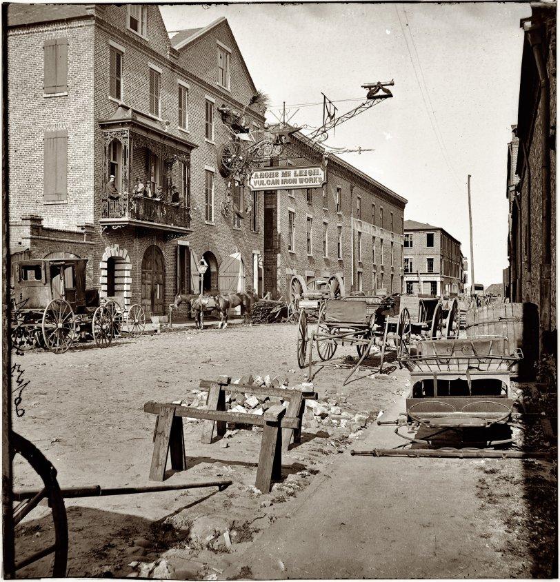 Vulcan Iron Works: 1865