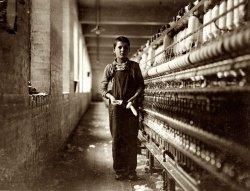 Tony the Bobbin Boy: 1911