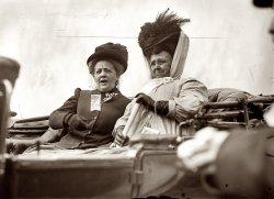 Mrs. Bryan and Mrs. Flaherty: 1908