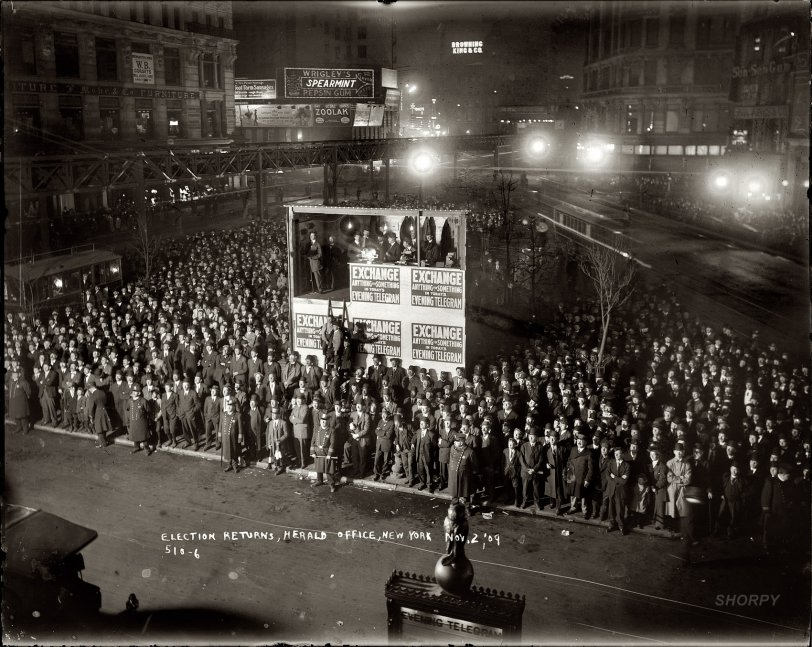 Election Night: 1909