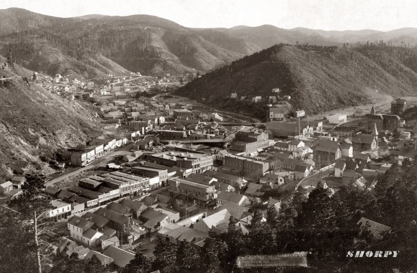 Deadwood From Forest Hill: 1888
