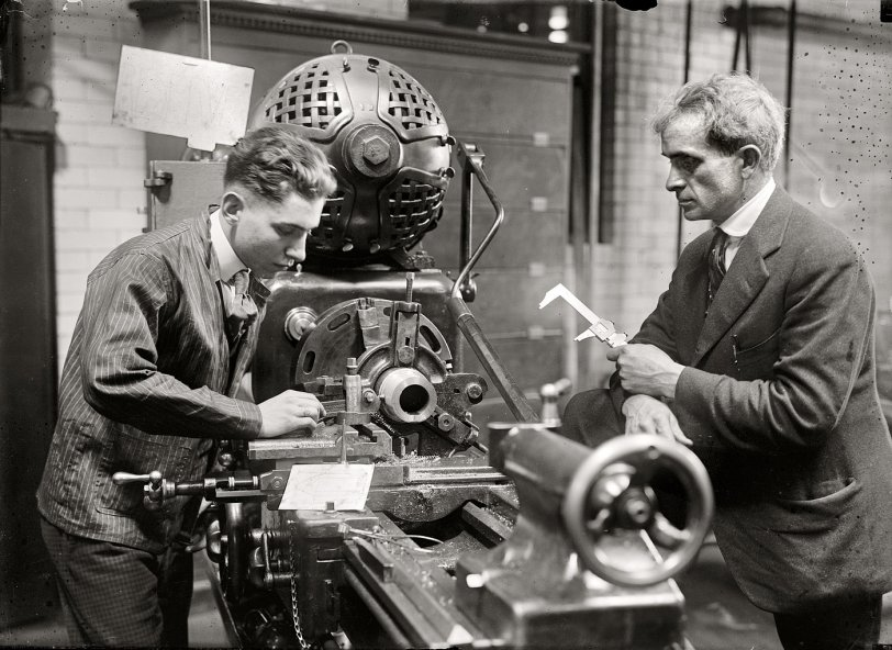 Machine Shop: 1917