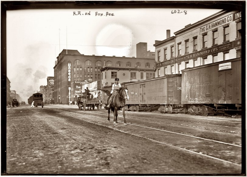 Eleventh Avenue Freight: 1911