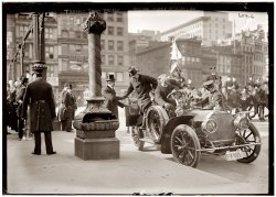 Traffic Squad Parade: 1908