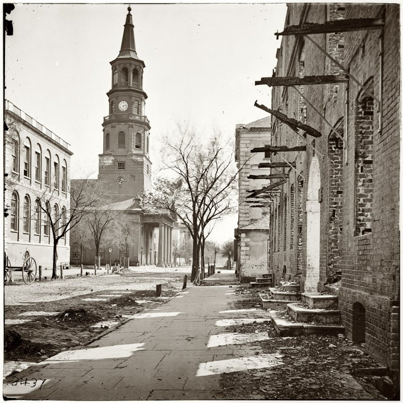 St. Michael's Episcopal, Charleston: 1865