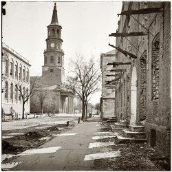 St. Michael's Episcopal, Charleston: 1865