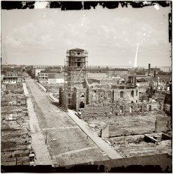 Circular Church, Charleston: 1865