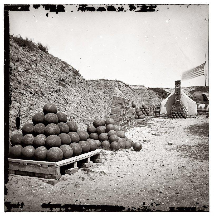Fort Johnson: 1865