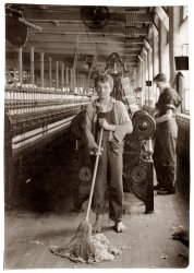 The Barefoot Sweeper: 1916