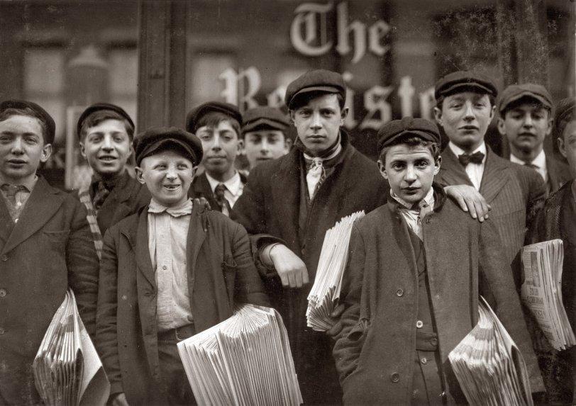 New Haven Newsies: 1909