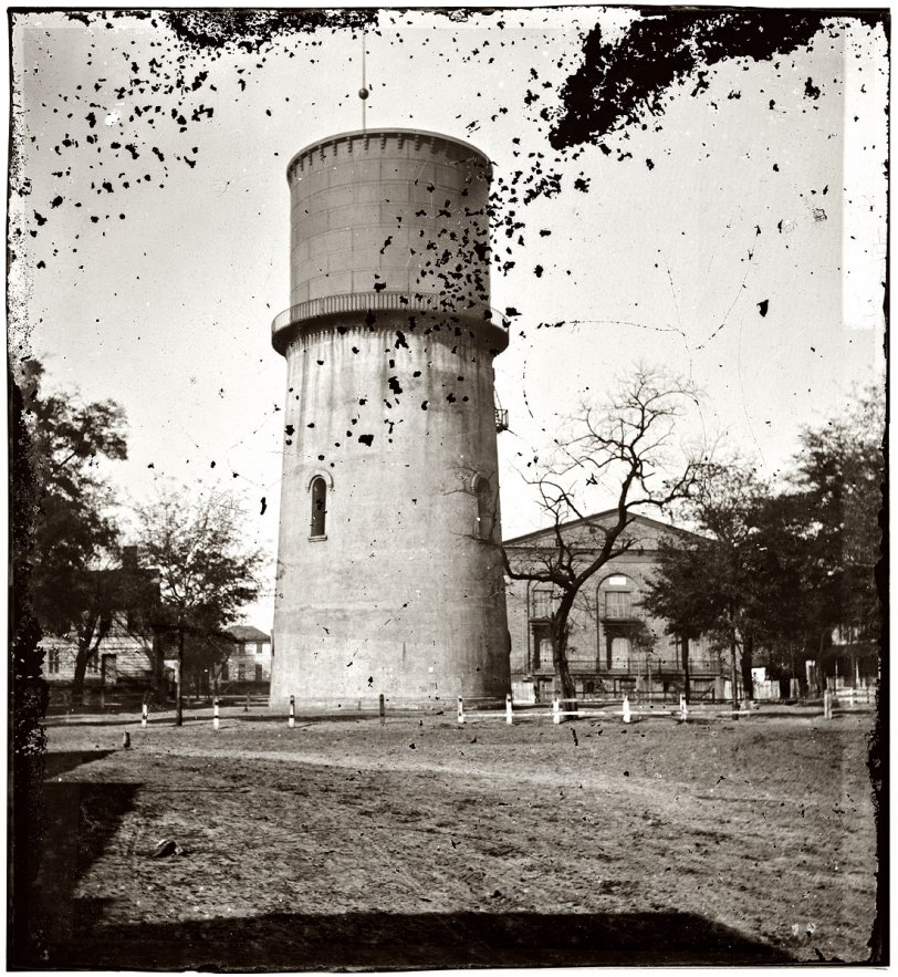 Water Tower: 1865