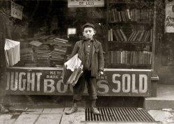 Hyman the Newsie: 1909