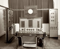 Marconi Control Table: 1939