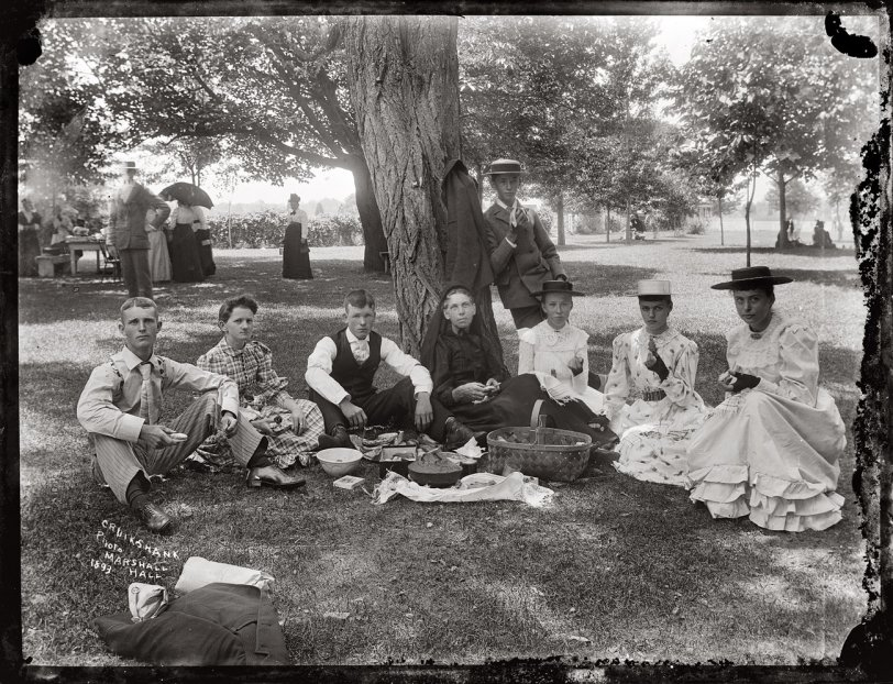 Picnic at Marshall Hall: 1893