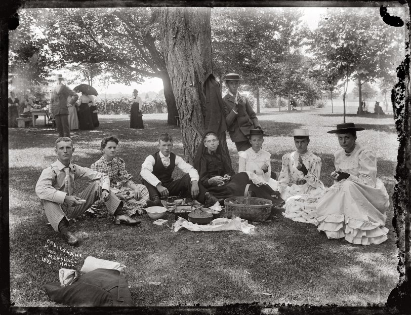 Picnic at Camp McKibbin: 1893
