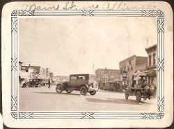 Main Street in Alliance - 1930