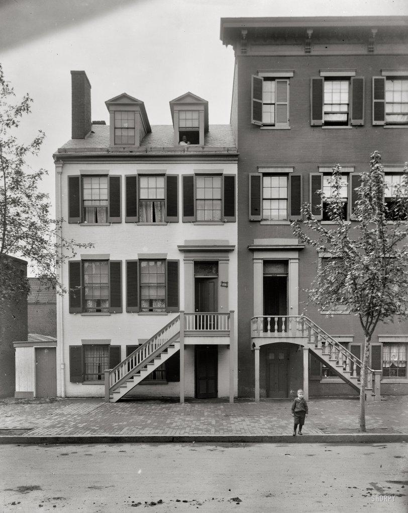 Surratt House: 1900