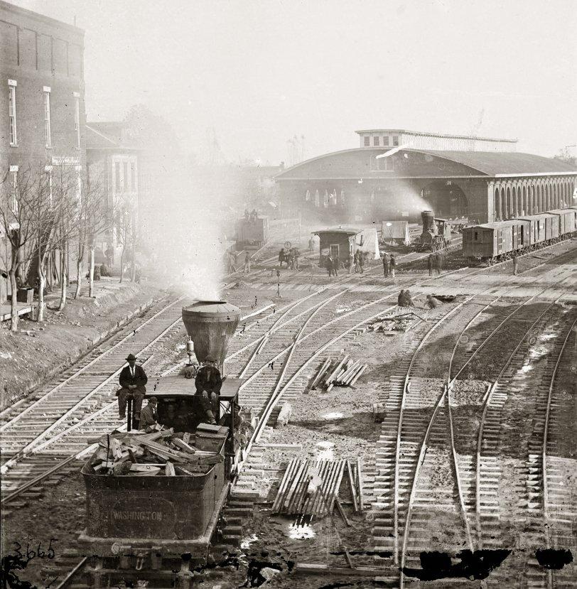 Atlanta Depot: 1864