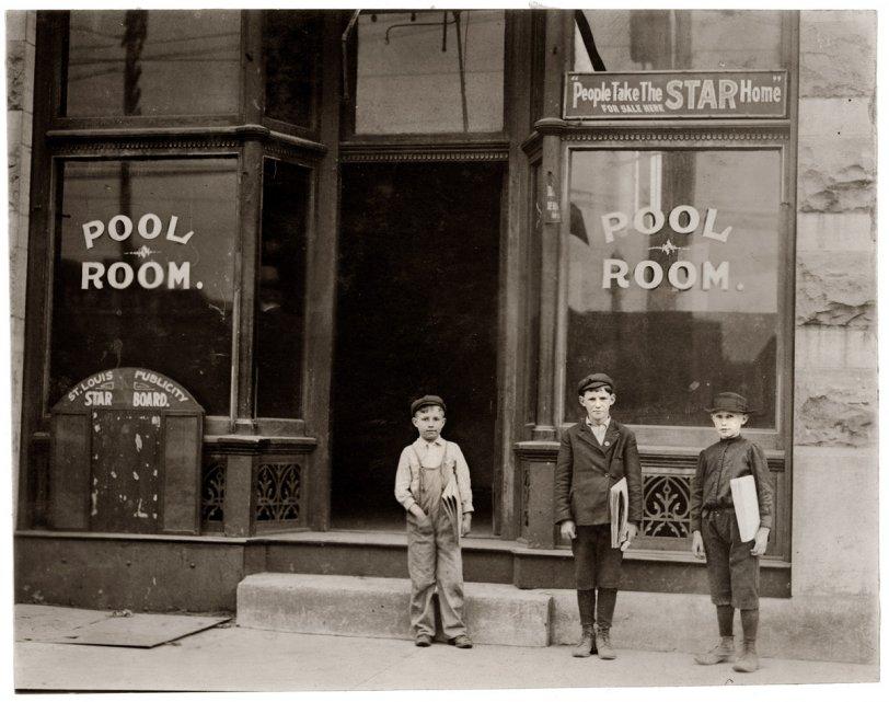 Pool Boys: 1910
