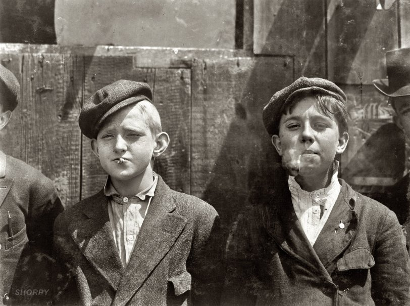 They Were All Smoking: 1910