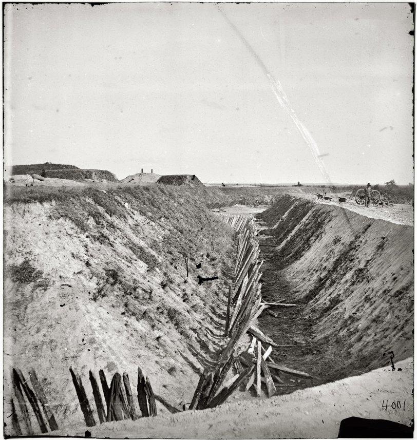 Earthworks: 1864