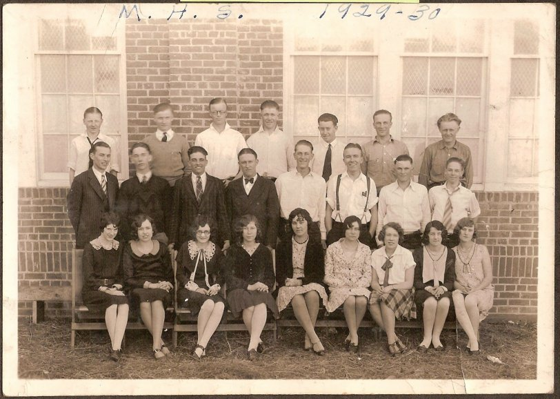 Mullen High School - 1930