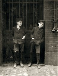 Working Boys: 1910