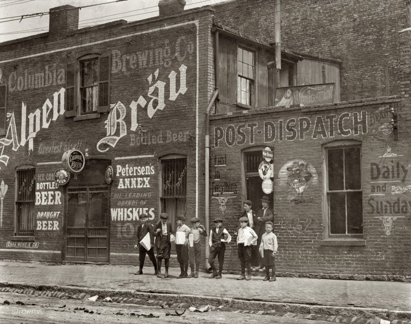 Johnstons Branch Newsies: 1910