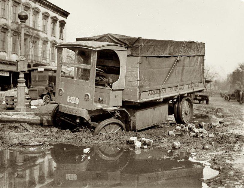 Stuck Truck: 1921
