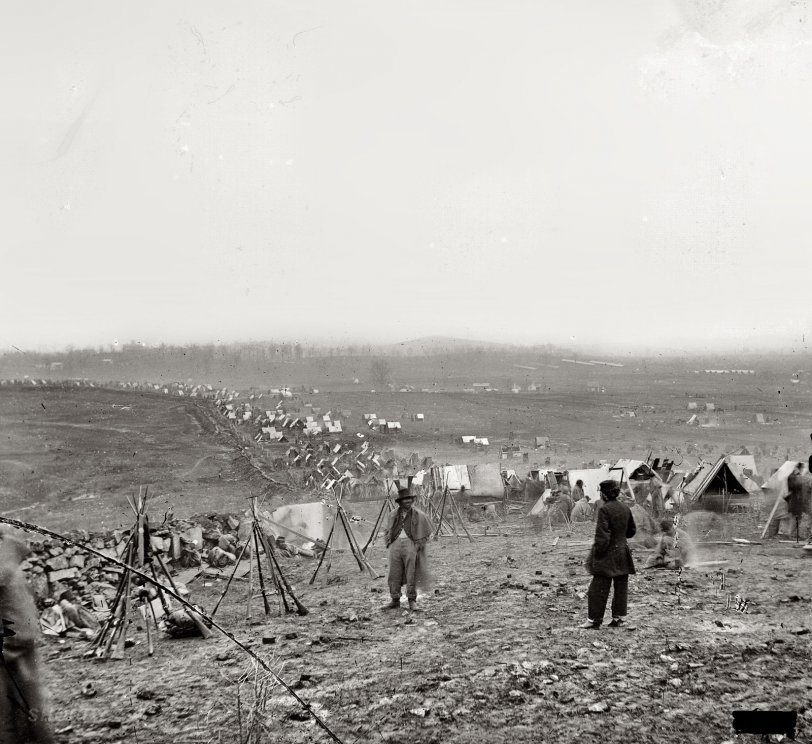 The Outer Line: 1864