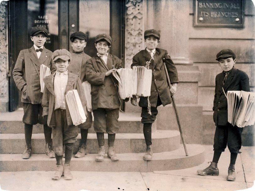 Jersey City Newsies: 1912
