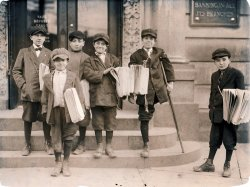 Jersey City Newsies: 1912