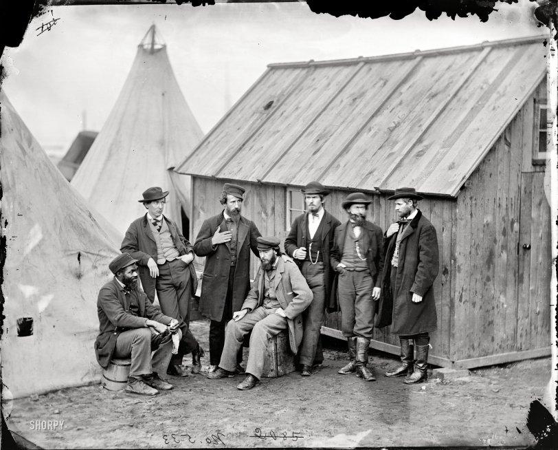 Commissary Clerks: 1863