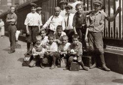 Trinity Bootblacks: 1924