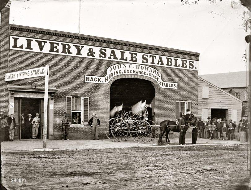Rent-a-Horse: 1865