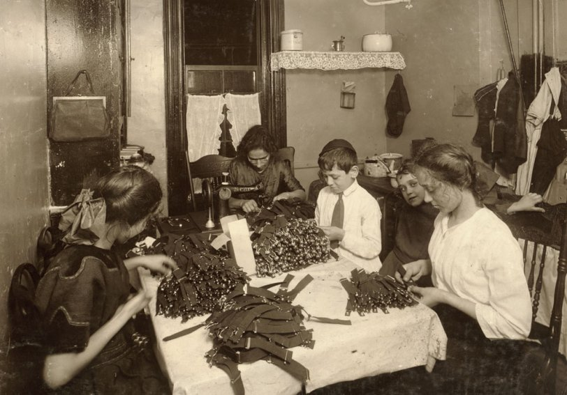 New York Tenement: 1912