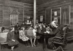 Sunset School: 1921