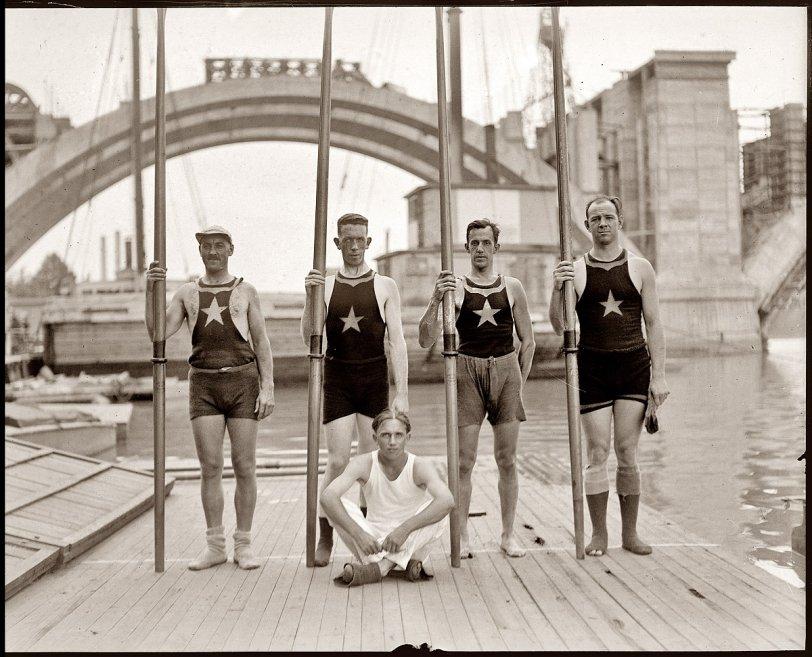 Potomac Rowers: 1921