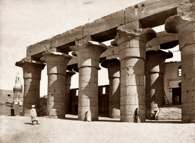 Karnak: 1858