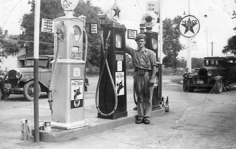 Texaco Pumps: c.1939